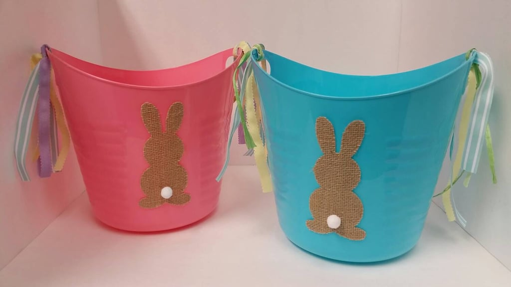 Easter Baskets Plastic Bins