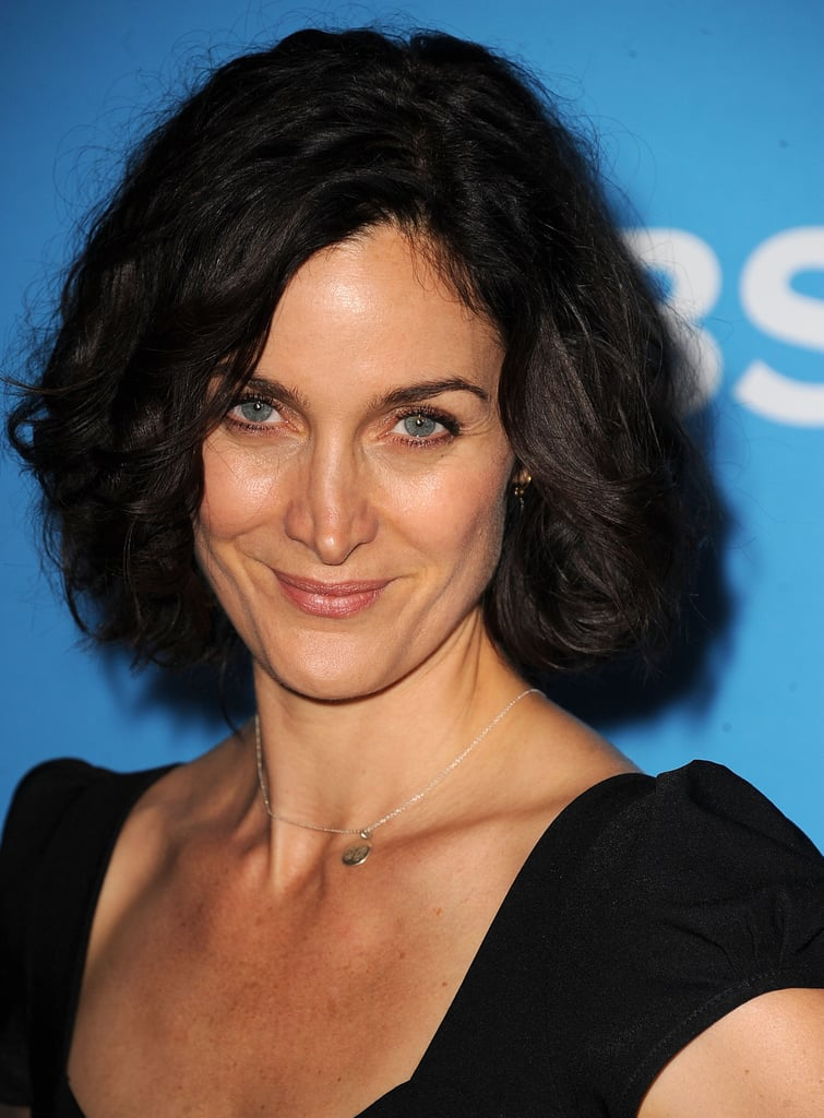 Carrie-Anne Moss smiled at the CBS Fall premiere party in LA.
