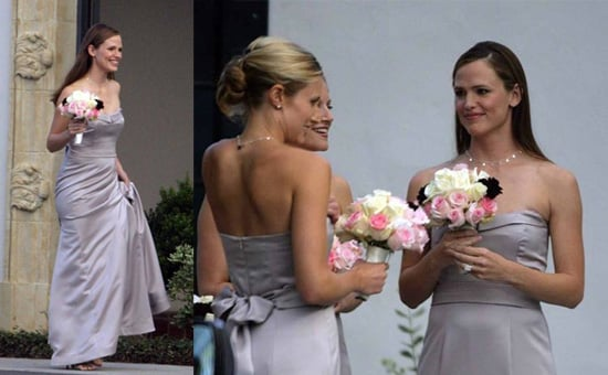 Jennifer as the Celebrity Bridesmaid