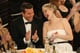 At the Globes, Jennifer Lawrence cracked up alongside Bradley Cooper.  Source: Christopher Polk/NBC/NBCU Photo Bank/NBC