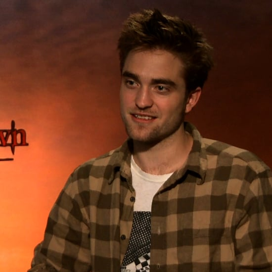 Robert Pattinson Breaking Dawn Birth Scene Interview (Video)