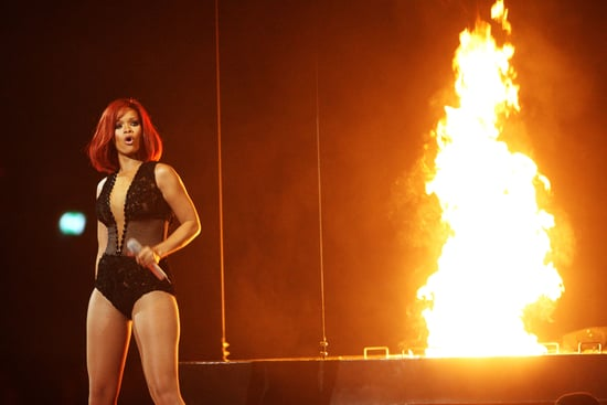 Rihanna's Medley Performance at the 2011 Brit Awards Including Only Girl (In the World) and S&M