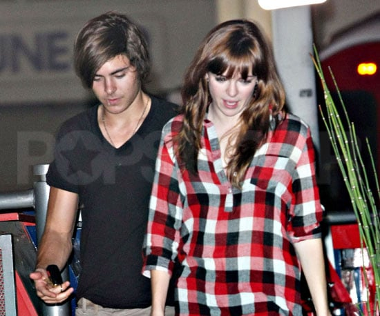 Photo of Zac Efron and Danielle Panabaker Out to Dinner in LA