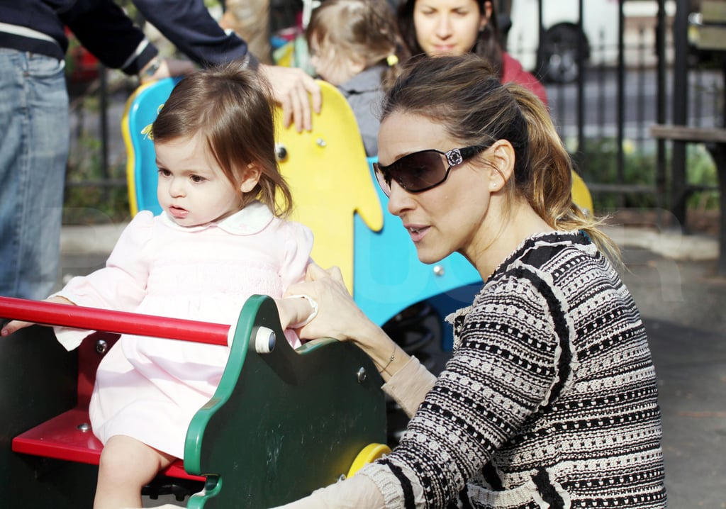 SJP Hits The Park With Her Twins and Splashes Out $18.9 Million on a New Townhouse