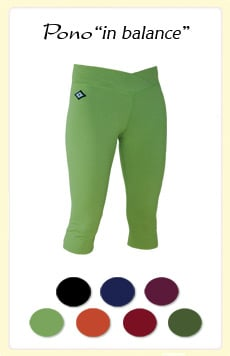Get Your Butt in Gear:  Inner Waves Organics Capri Pants