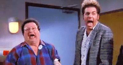 When Kramer and Newman Are Losing It
