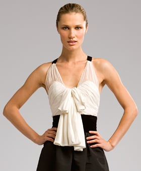 The Look For Less: Peter Som Bow-Front Top