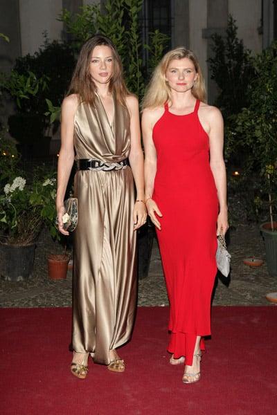 Gaia and Beatrice Trussardi