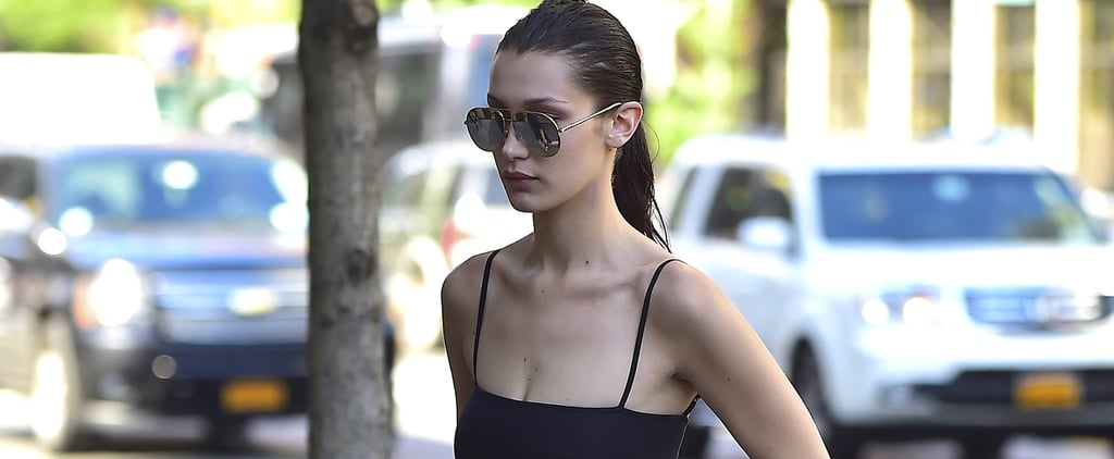 Bella Hadid's Bringing Back the Skirt You Used to Wear With Your Abercrombie Tee