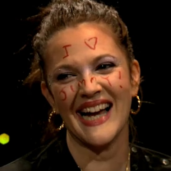 Drew Barrymore and Jimmy Fallon Put on Makeup