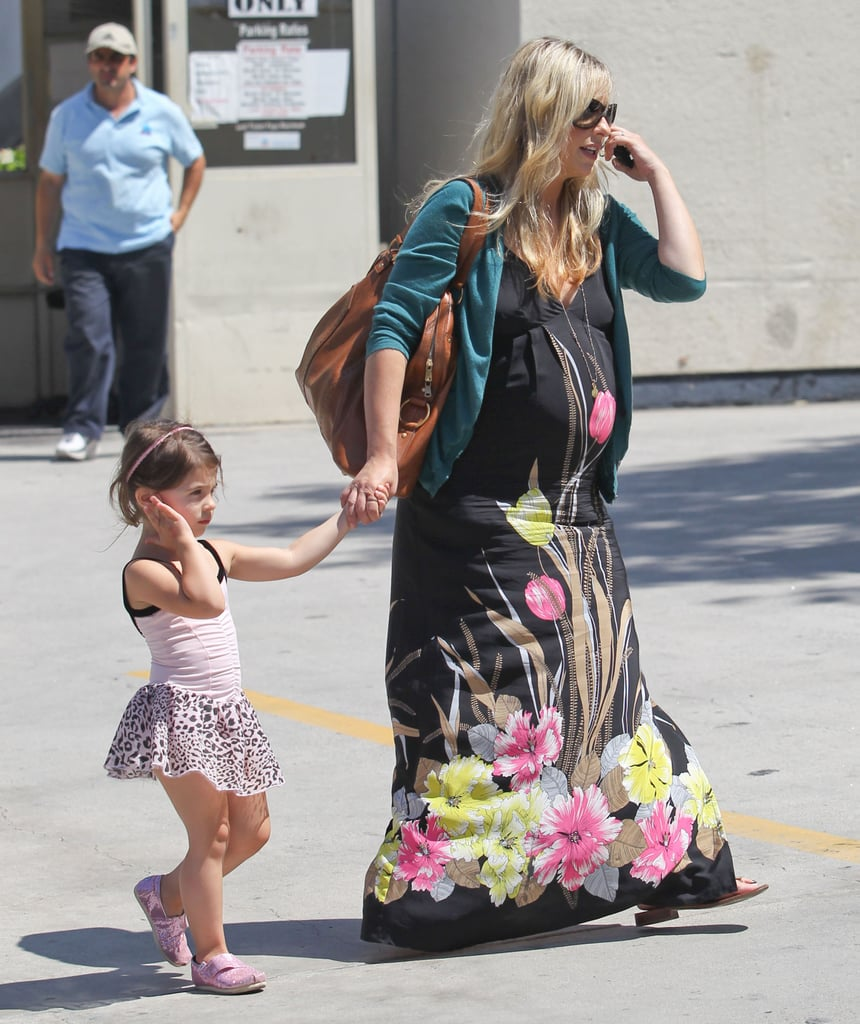 Sarah Michelle Gellar and Charlotte Prinze walked together.