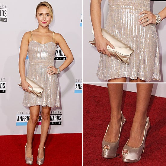 Hayden Panettiere at American Music Awards 2012