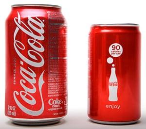 Coca-Cola Introduces 90-Calorie Mini Can
