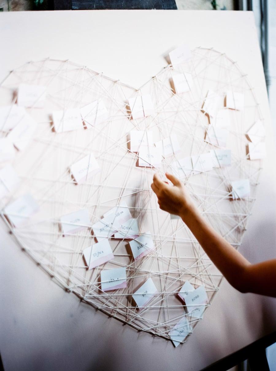 Seating Chart Heart