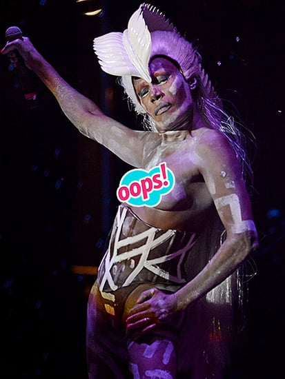 Grace Jones, 67, Performs Topless in Body Paint at Afropunk Festival