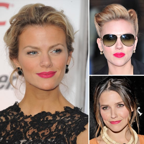 Celebrities Wearing Pink Lipstick