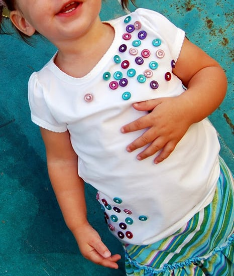 Button Tee Embellishments