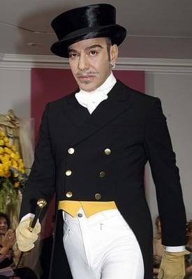 John Galliano is New Chairman of Fashion Fringe Replacing Donatella Versace