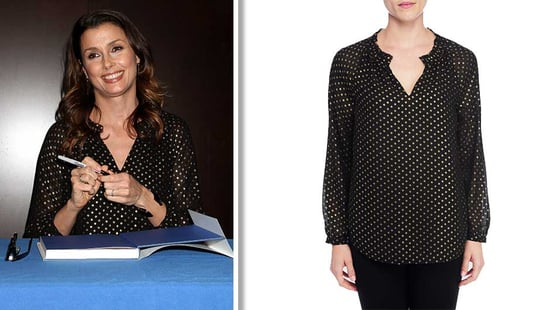 Update Your Work Wardrobe For Under $100 With Bridget Moynihan's Pretty NYDJ Blouse