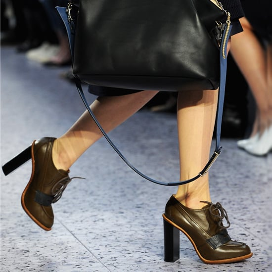 Stacked-Heel Shoes   Shopping
