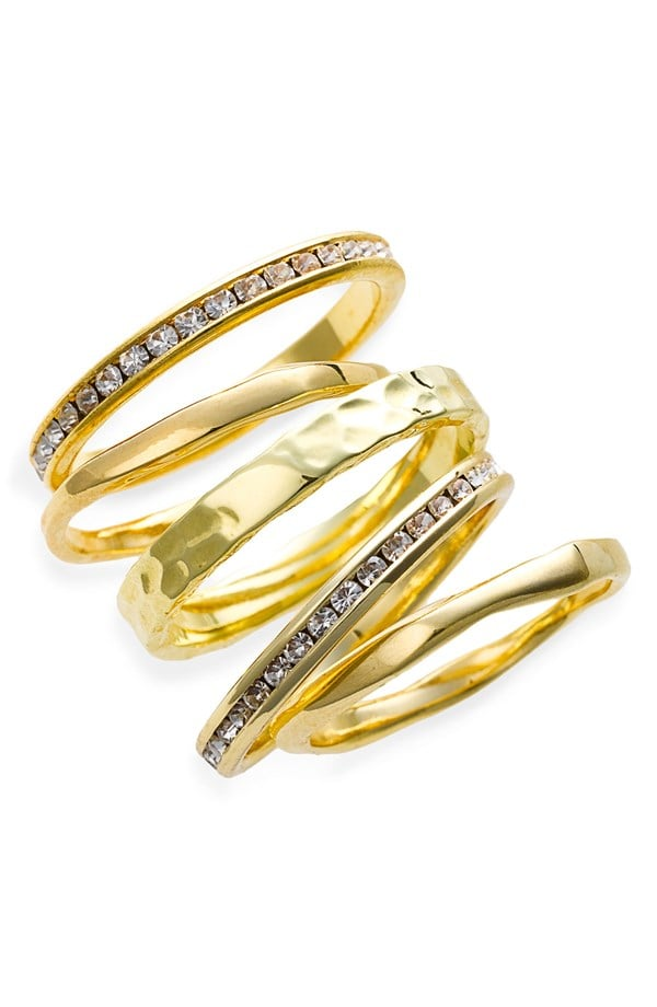 Ariella Collection Slim Stackable Rings