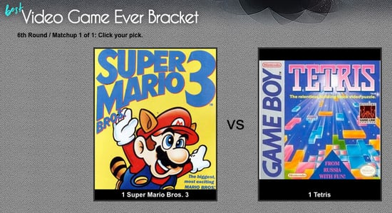 Cast Your Vote Now For the Best Video Game Ever!