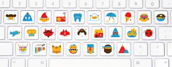 Keyboard Stickers For Kids
