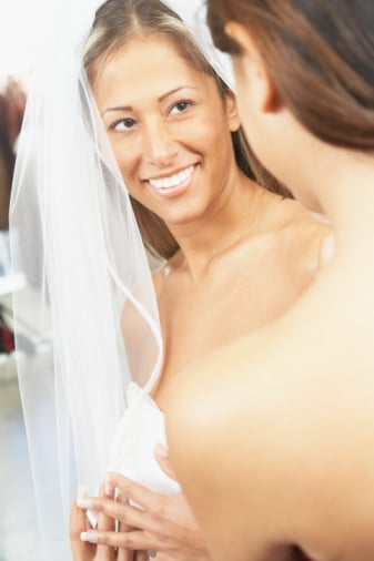 Would You Line Up For a Bridal Gown Sweep?