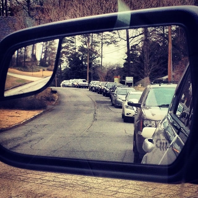 Two Words: Carpool Line