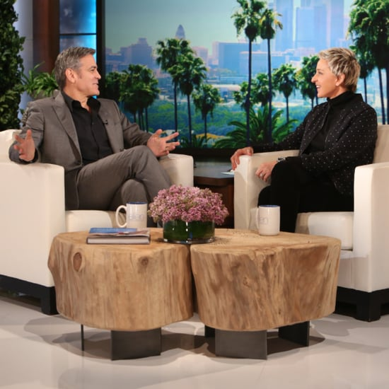 George Clooney Talks Proposing to Amal on Ellen