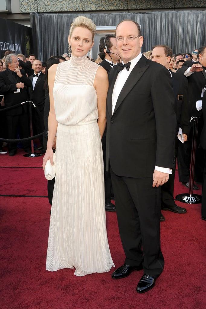 Prince Albert and Charlene Whitstock
