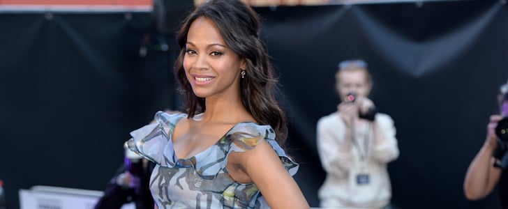 Is This Our First Glimpse at Zoe Saldana's Maternity Style?