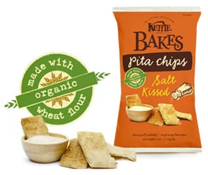 Kettle Pita Chips SOUND Good For You...