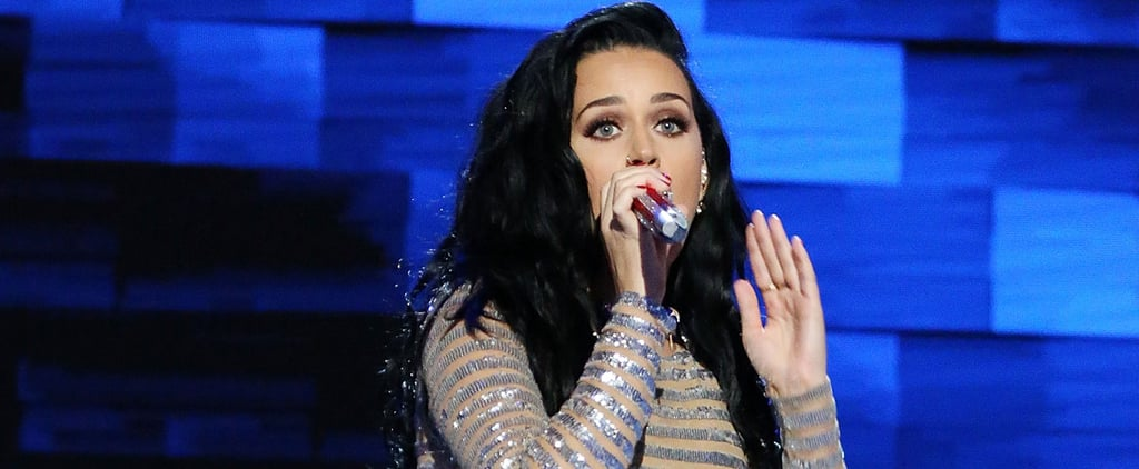 Katy Perry's DNC Outfit Looked Like a Normal Glitter Dress — but It Was Actually So Much More