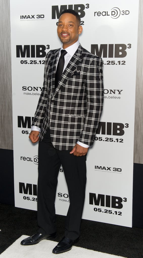 Will Smith stepped onto the black carpet for the Men in Black III premiere in NYC.
