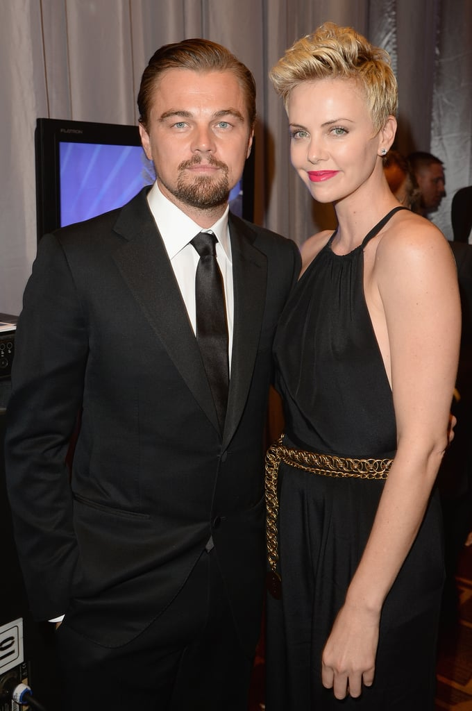 Charlize Theron and Leonardo DiCaprio stepped out to attend the  24th Annual GLAAD Media Awards on April 21.