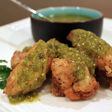 Salsa Verde Chicken Wings Recipe