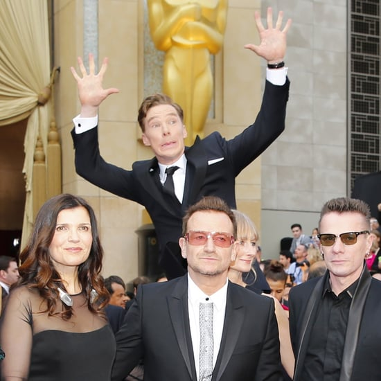Benedict Cumberbatch at the Oscars 2014