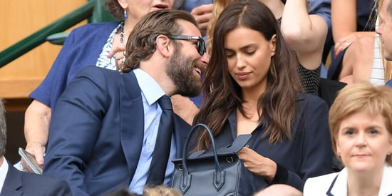 We Can Only Imagine What Bradley Cooper Said To Make Irina Shayk Cry At Wimbledon