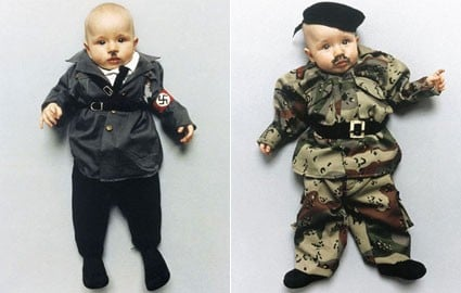 Lil Links: Activist Dresses Her Baby Like Hitler