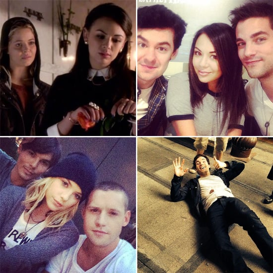 Warning: These Behind-the-Scenes Shots May Contain PLL Spoilers!