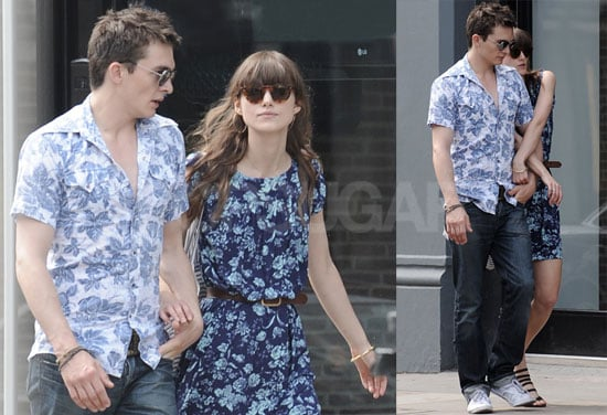 Photos of Keira Knightley and Rupert Friend Looking in Love in London