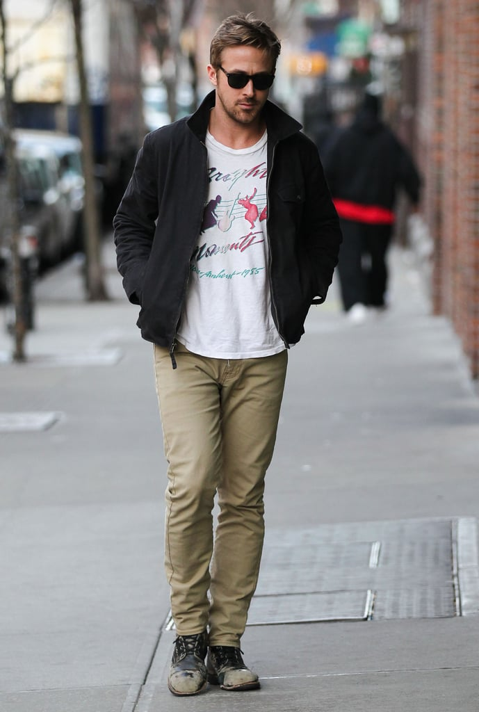 Ryan Gosling and Eva Mendes Pair Up For NYC Press Trip