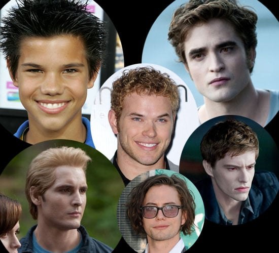 Photos of the Men from Twilight