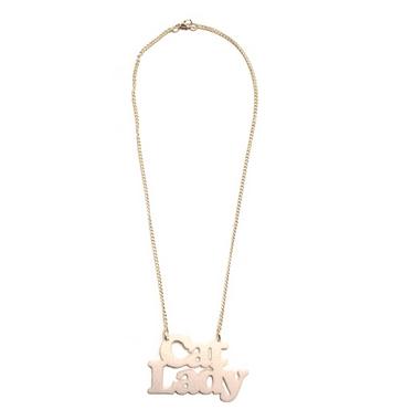 Cat Lady Necklace