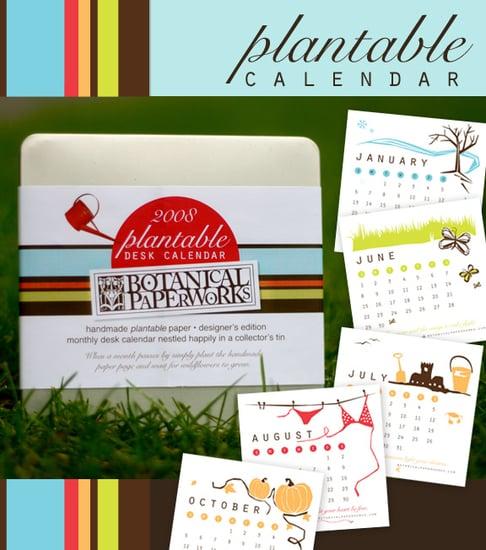 Cool Idea:  A Calendar You Can Plant