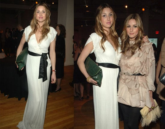 Whitney Port in a White Maxi Dress at 2008 charity: ball Gala Benefit