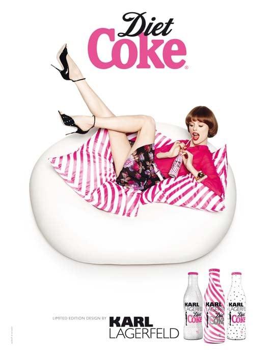 Diet Coke by Karl Lagerfeld 2011