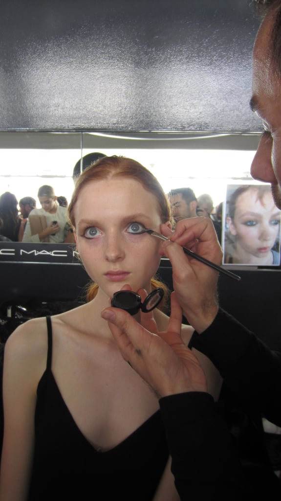 """""""We used Mac Cosmetics Pro Crème Liner, which gives you precision but is also the blackest liner I've ever used."""""""