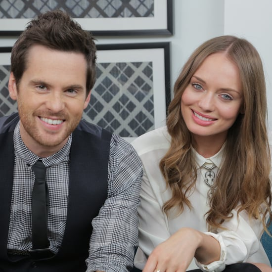 Laura Haddock and Tom Riley on Da Vinci's Demons Season Two